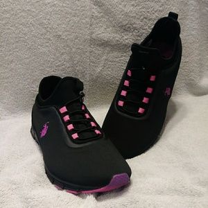 U.S. Polo Assn. Shoes size 11 black and pink
